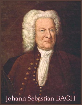 Johann Sebastian Bach, Altersbild, Portrait in old age.